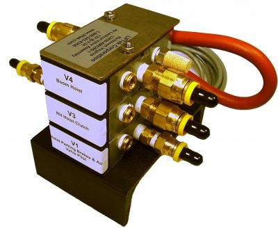 Air Lockout Valve Bank – 2 to 5 functions