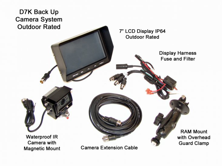 D7K Back Up Camera System - Click Image to Close
