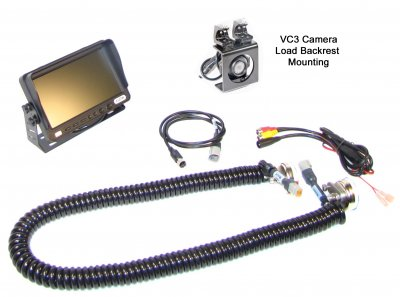 D7V Load Backrest Camera System